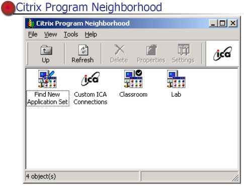 citrix program neighborhood free  windows 7